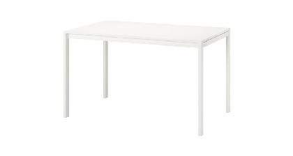 valge kandiline laud